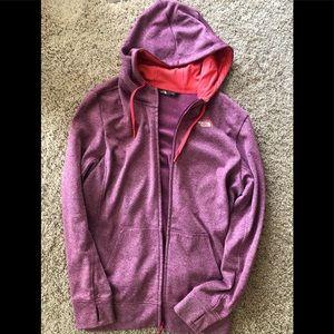 North Face Women's Zip Hoodie - XL